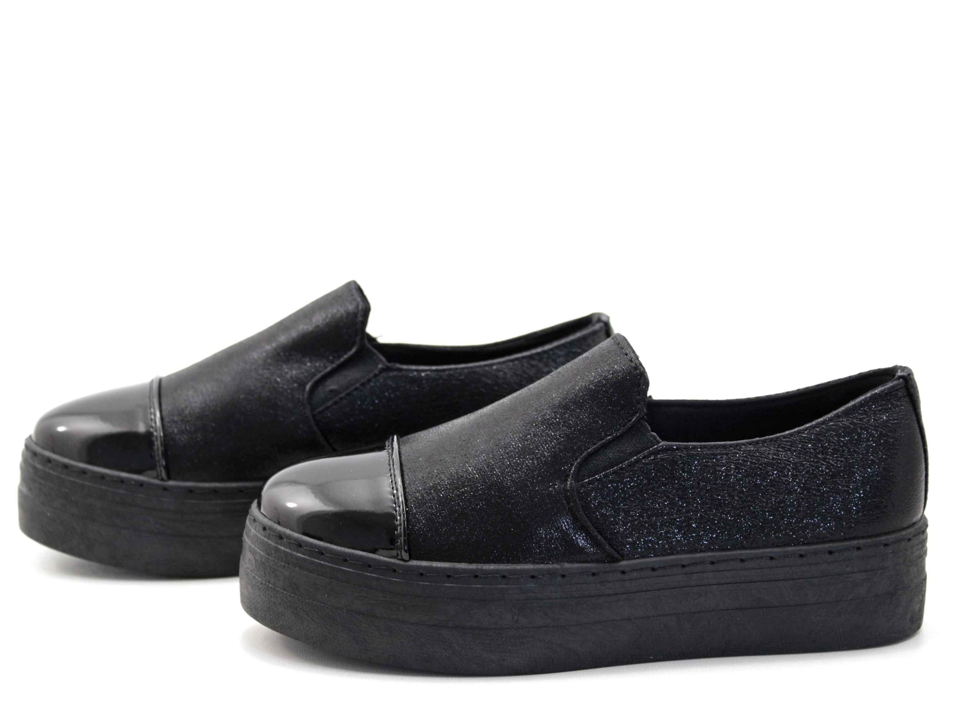 9026152db3a ΓΥΝΑΙΚΕΙΑ ΠΑΠΟΥΤΣΙΑ CASUAL ΜΑΥΡΑ - Sneakers - Πάνινα, Casual-Oxford ...