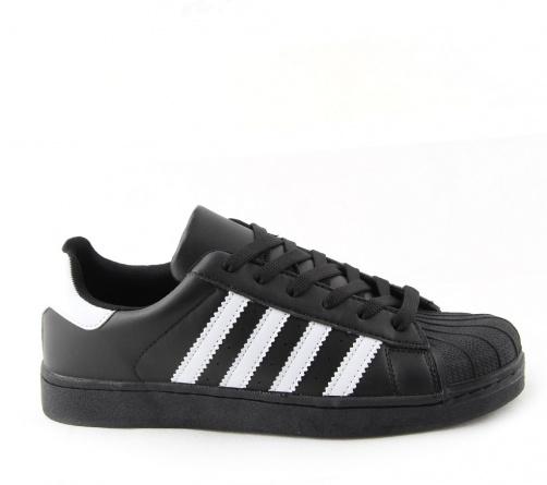 Sneakers Μαύρα Λευκά Ανδρικά