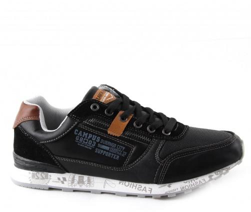 Ανδρικά Casual Παπούτσια Atlanta Μαύρα