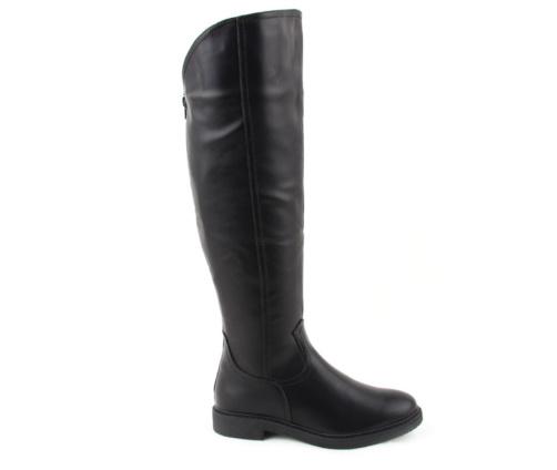 Μπότες Γονάτου Μαύρες La Coquette