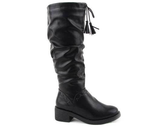 Μπότες Γυναικείες Μαύρες La Coquette