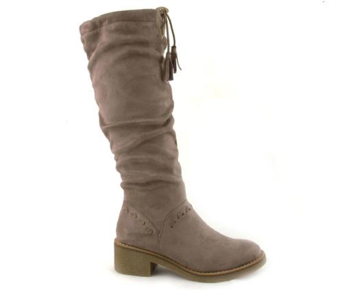 Μπότες Γυναικείες Μπεζ La Coquette