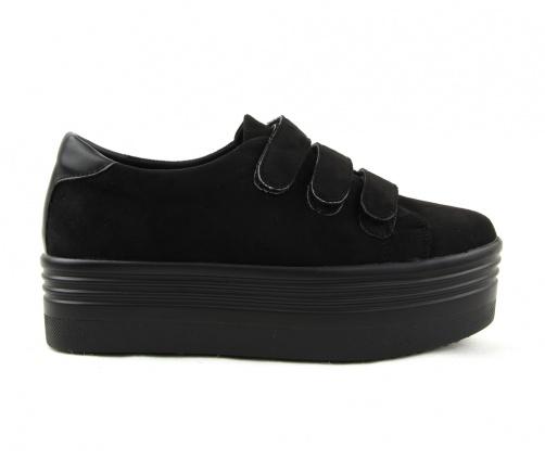 Sneakers παπούτσια δίπατα με αυτοκόλλητα