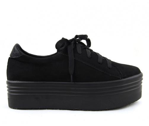 Sneakers Γυναικεία M & M μαύρα
