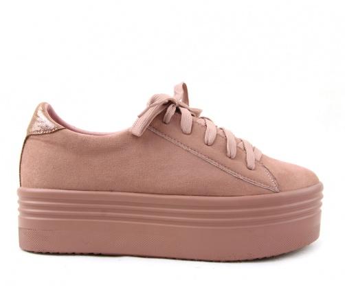 Sneakers Γυναικεία M & M ρόζ