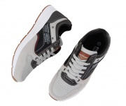 Casual ανδρικά παπούτσια Atlanta γκρί