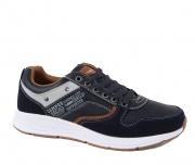 Casual ανδρικά παπούτσια Atlanta μπλέ