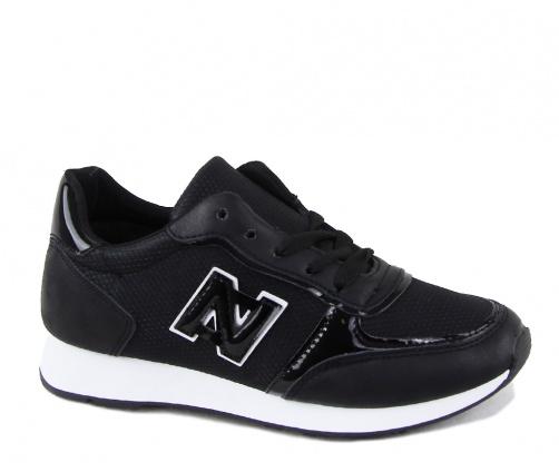 Παπούτσια sneakers γυναικεία μαύρα