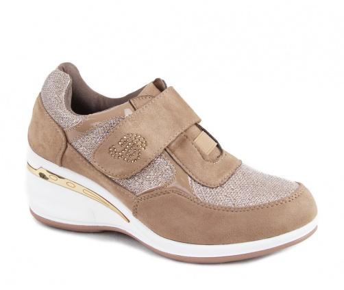 Γυναικεία παπούτσια casual μπέζ