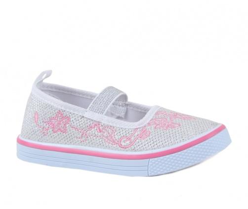 Παπούτσια Casual Μονόχρωμα Ασημί Smart Kids