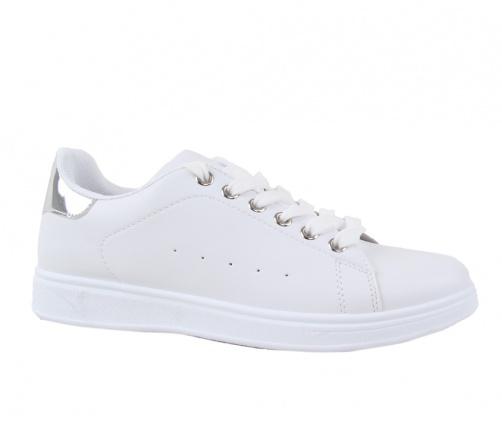 Sneakers Λευκό/Ασημί Γυναικεία