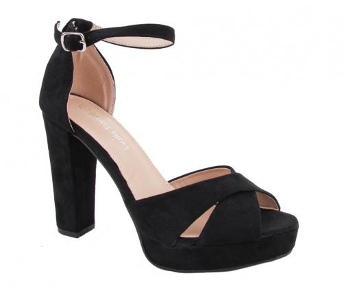 Γυναικεία Πέδιλα Μαύρα Sweet Shoes