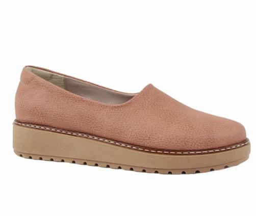 Χειροποίητα Slip On Παπούτσια Σομόν