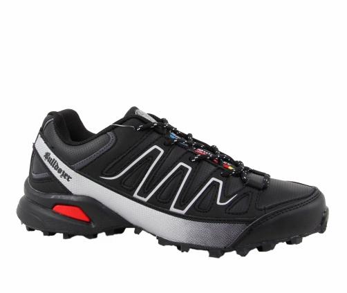 Αθλητικά Παπούτσια Bulldozer Μαύρα/Γκρι