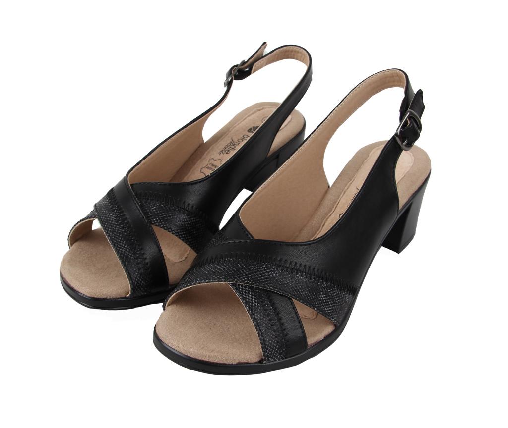 www.italos.gr-Πέδιλα Γυναικεία Μαύρα Blondie Flexible ce4bd30cf21
