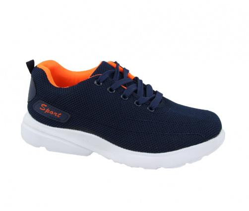 Αθλητικά Παπούτσια Μπλε πορτοκαλί