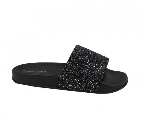 Καλοκαιρινές Slides Μαύρες