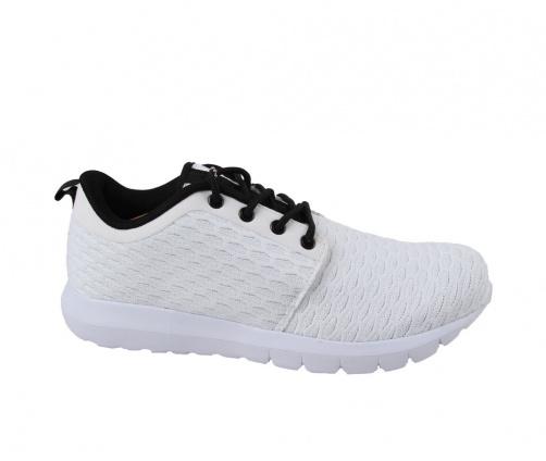 Ανδρικά Παπούτσια Λευκά Μαύρο