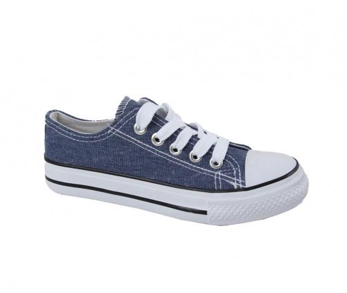 Πάνινα παπούτσια μπλε jeans