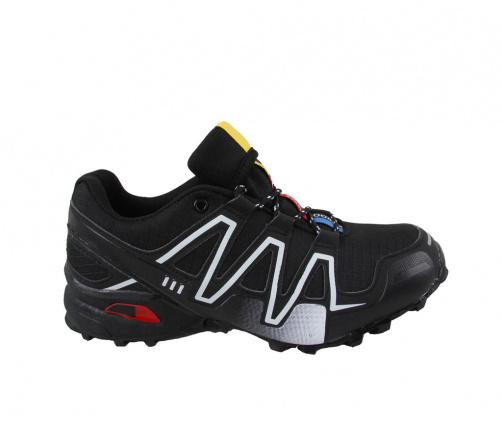 Ανδρικά Αθλητικά Μαύρα Παπούτσια
