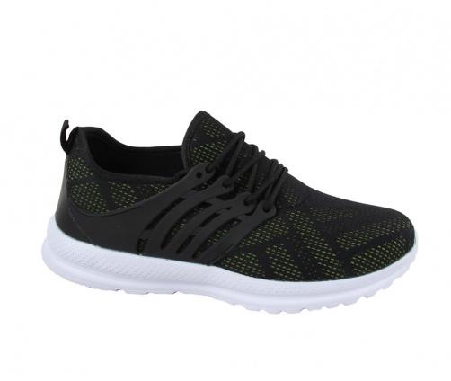 Αθλητικά παπούτσια μαύρο πράσινο