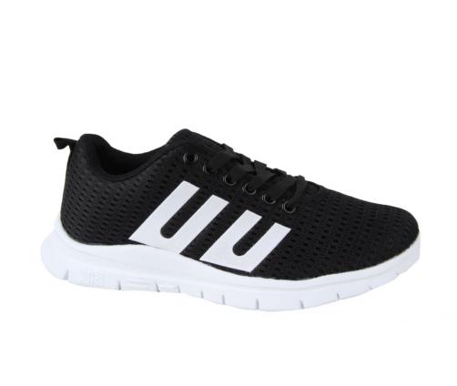 Αθλητικά Μαύρα Λευκά Παπούτσια