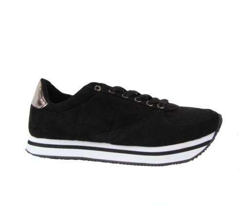 Αθλητικά Παπούτσια Μαύρο Ασημί