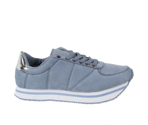Αθλητικά Παπούτσια Γαλάζιο Ασημί