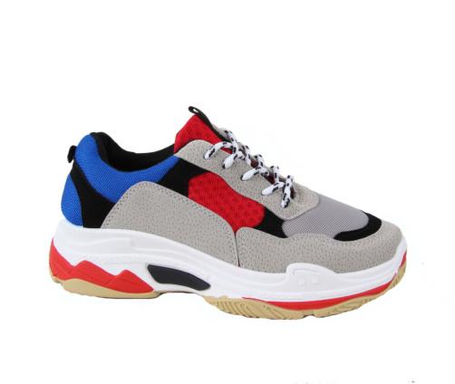 Αθλητικά Παπούτσια Γκρι Κόκκινο Μπλε