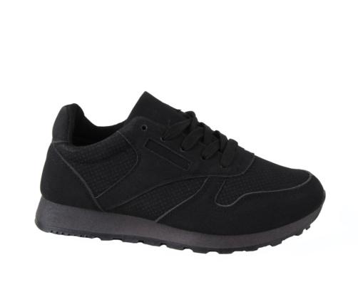 Αθλητικά Μαύρα Παπούτσια