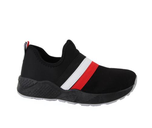 Sneakers Μαύρα Suede