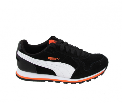 Αθλητικά Puma Runners Μαύρα Suede