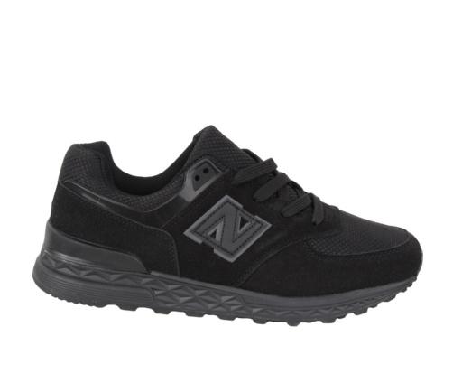 Αθλητικά Ανδρικά Μαύρα Παπούτσια