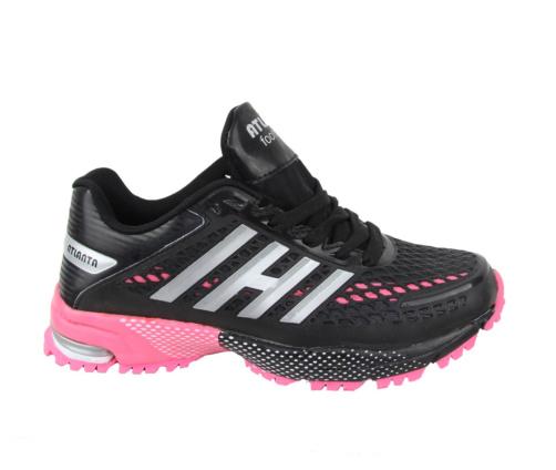 Αθλητικά Γυναικεία Μαύρα Παπούτσια