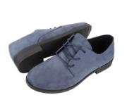 Γυναικεία μπλε παπούτσια με κορδόνια