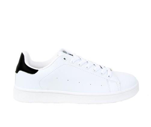 Sneakers Λευκά Μαύρο