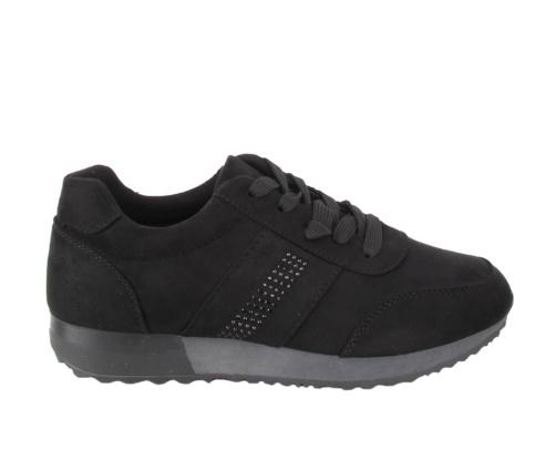 Αθλητικά Μαύρα Παπούτσια suede