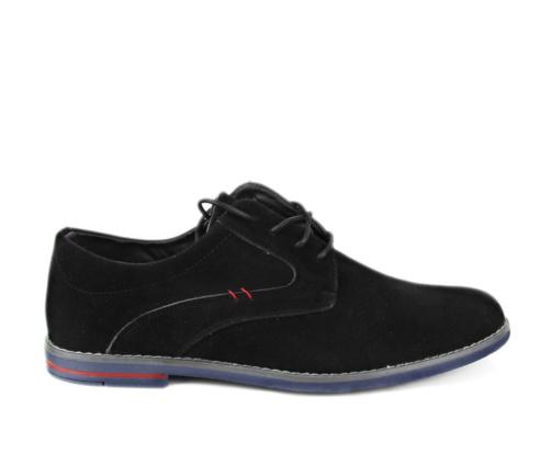 Ανδρικά Παπούτσια Μαύρα Suede