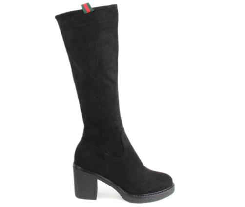 Γυναικείες Μπότες Ψηλές Μαύρες