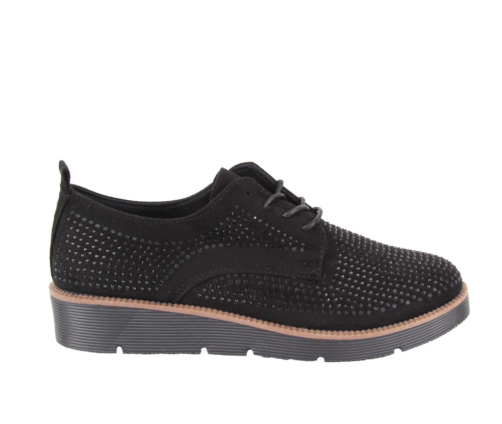 Casual Παπούτσια Μαύρα καστόρ γκλιντερ