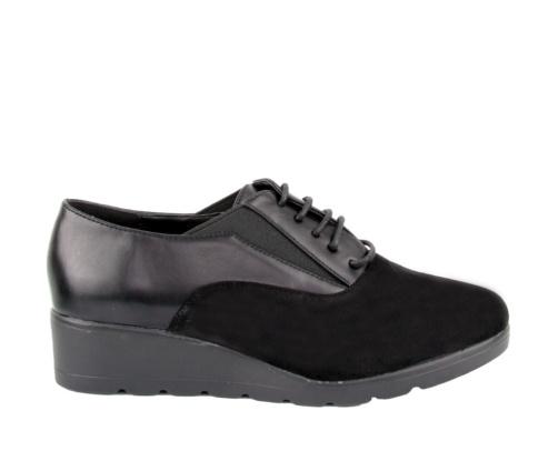 Casual Παπούτσια Μαύρα suede