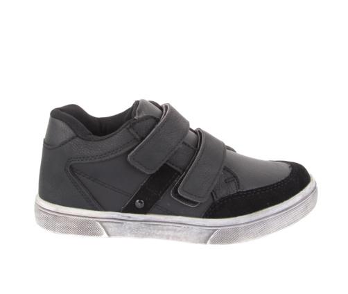 Casual παπούτσια μαύρα για αγόρια
