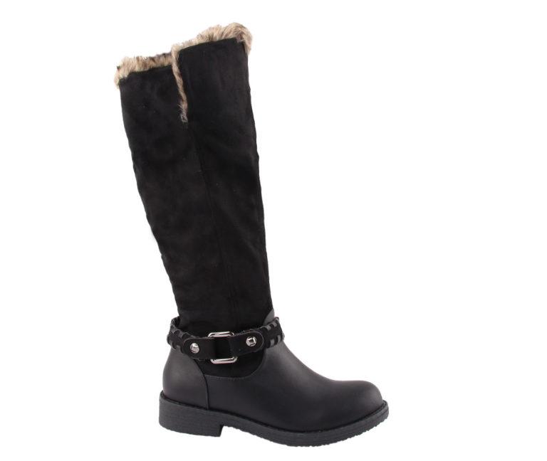 Γυναικείες Μπότες Μαύρες Χαμηλές