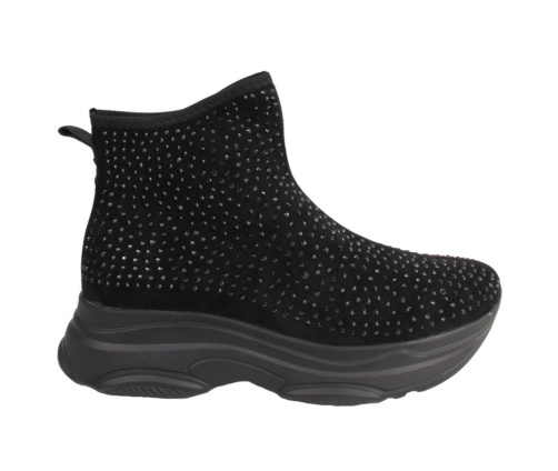 Sneakers μαύρα μποτάκια