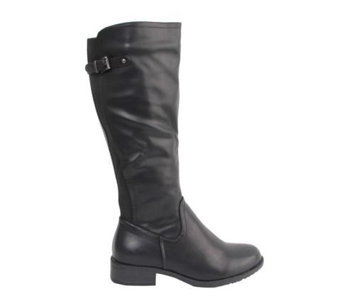 Γυναικείες Μαύρες Μπότες Ψηλές