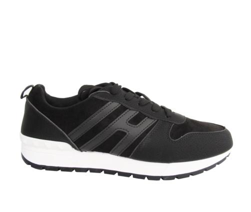 Αθλητικά Μαύρα Παπούτσια Ανδρικά