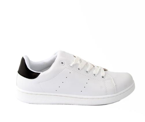 Sneakers Γυναικεία Λευκό Μαύρο