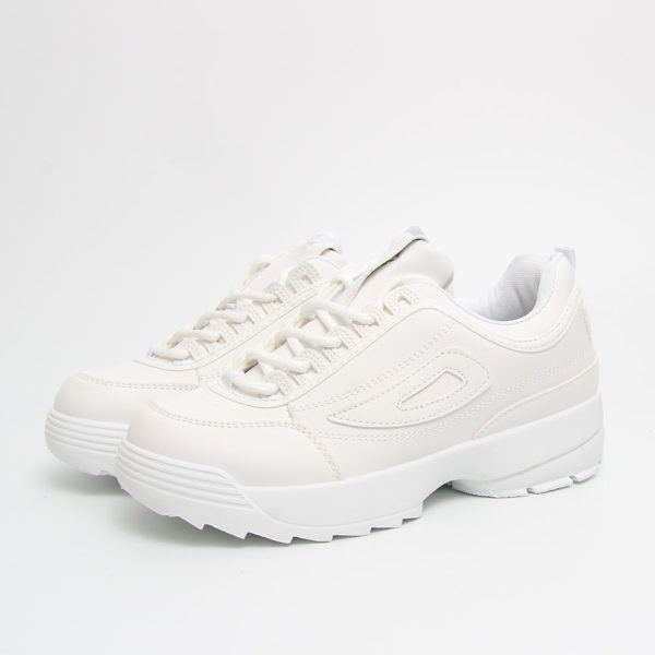 Sneakers total white