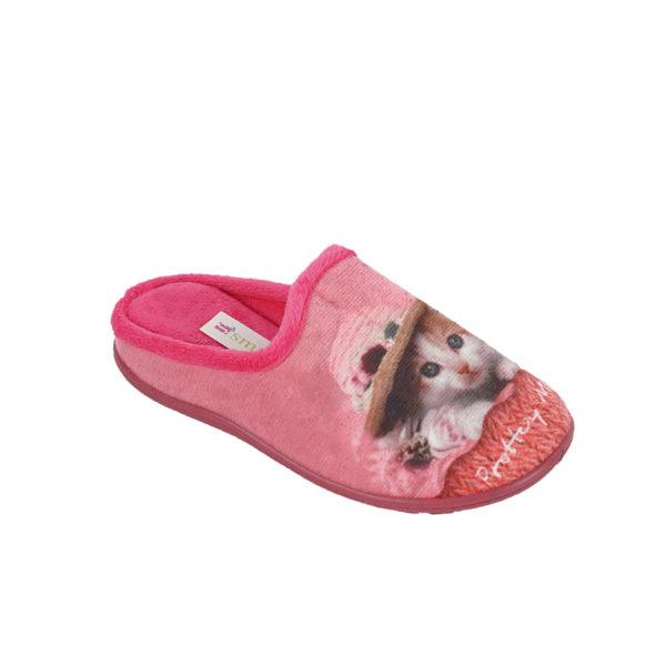 Παιδικές Παντόφλες φουξ γατάκι