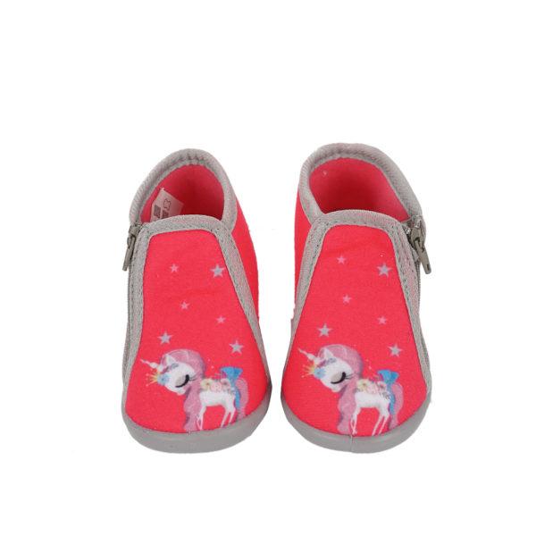 Παιδικές Παντόφλες Ροζμονόκερος